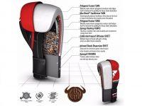 RDX Boxerské rukavice T9 - červená