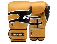 RDX Boxerské rukavice S7 Bazooka - zlatá