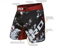 RDX MMA trenky R6 Giant - šedivá