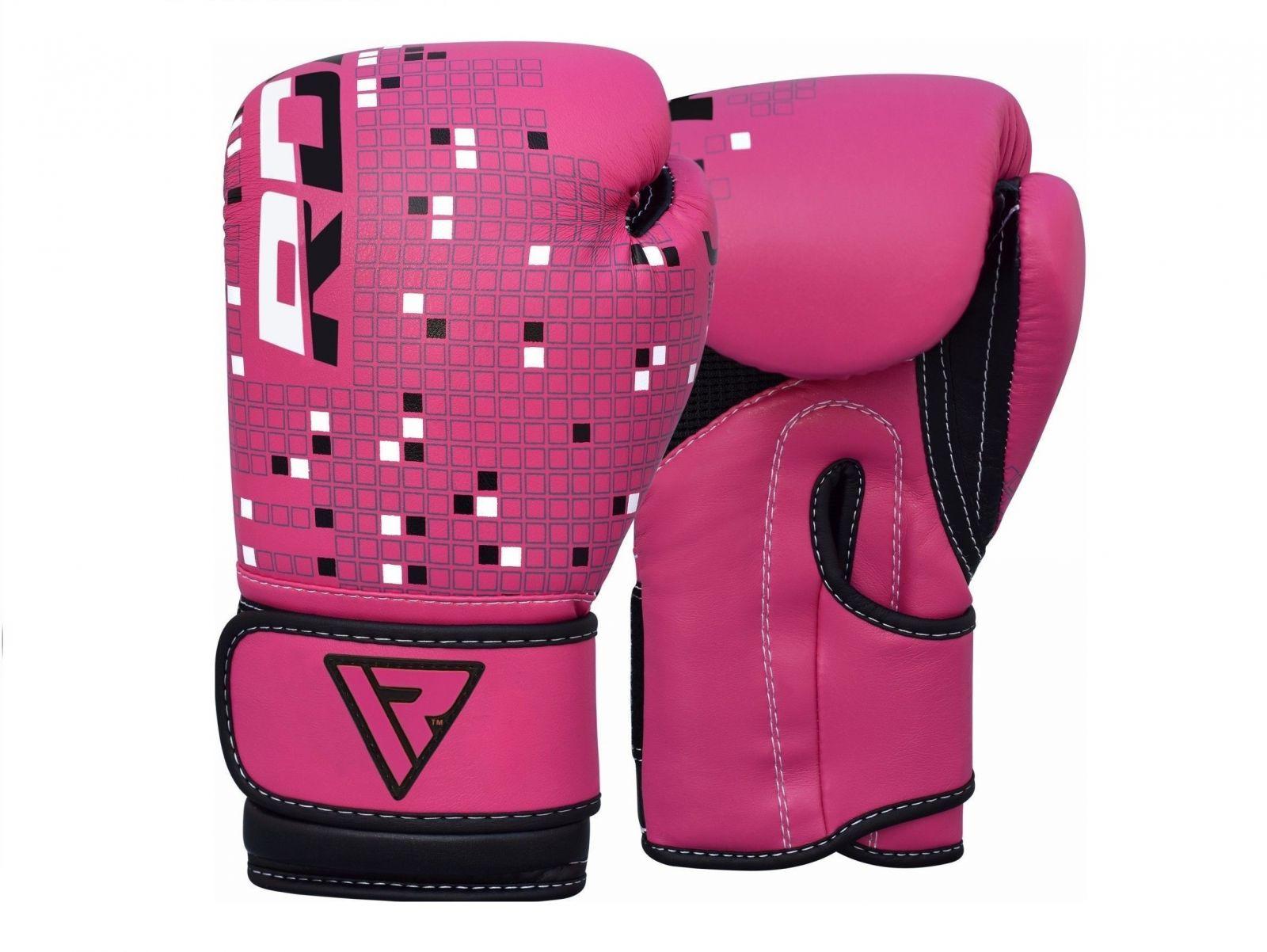 RDX Boxerské rukavice KIDS NEW PINK (4oz)