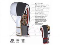 RDX Boxerské rukavice EGO F7 - zlatá