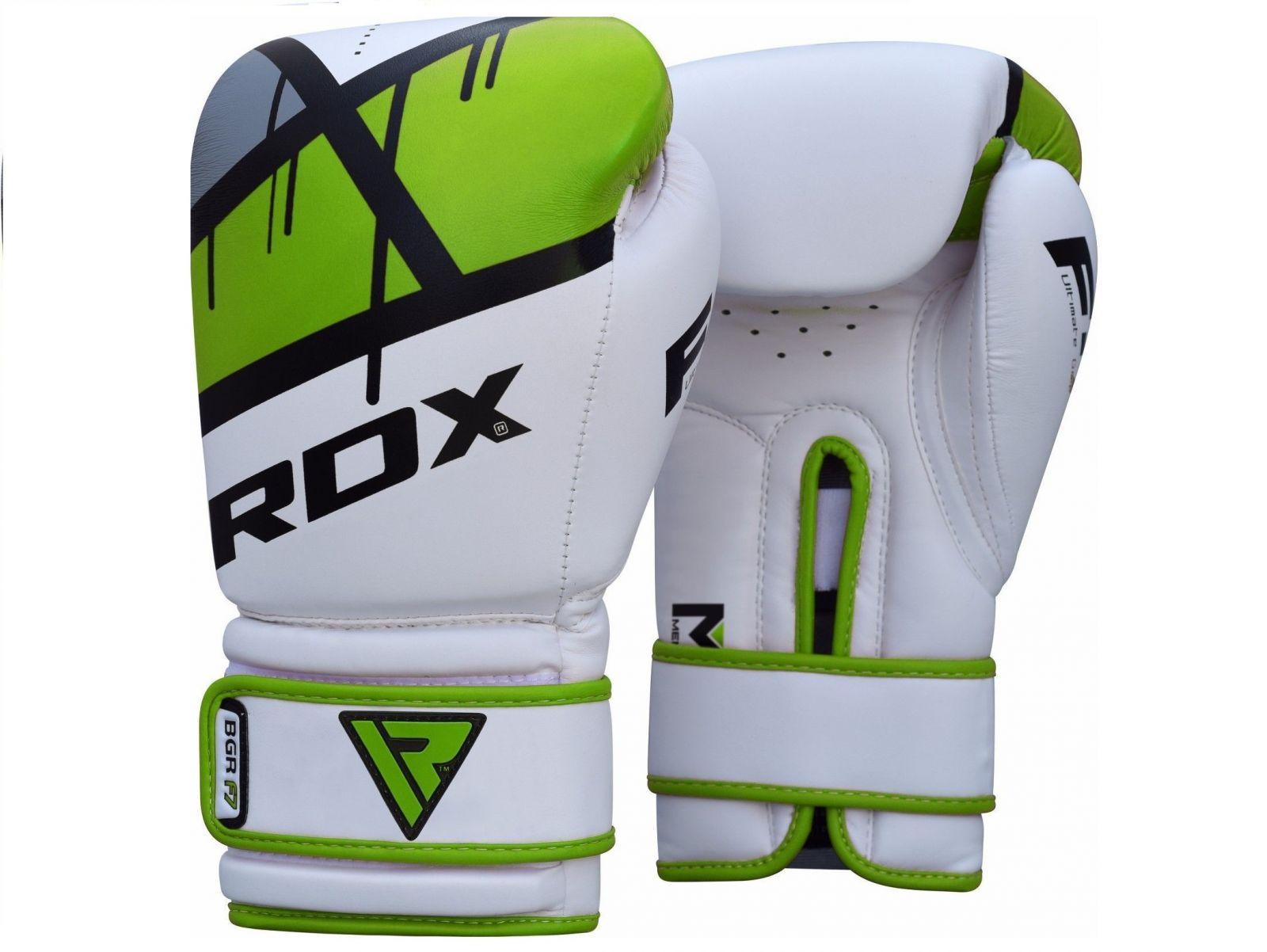 RDX Boxerské rukavice EGO F7 - zelená