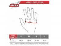 RDX MMA Rukavice REX T6 - modrá - M