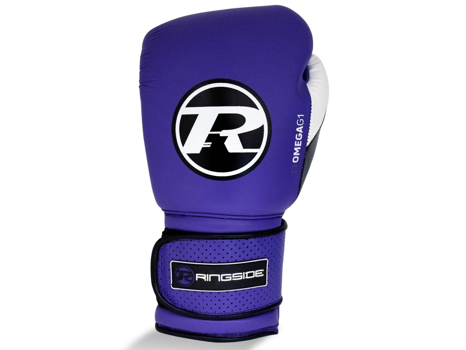 RINGSIDE Boxerské rukavice Omega G1 Ultra Pro Spar (14oz) - fialová