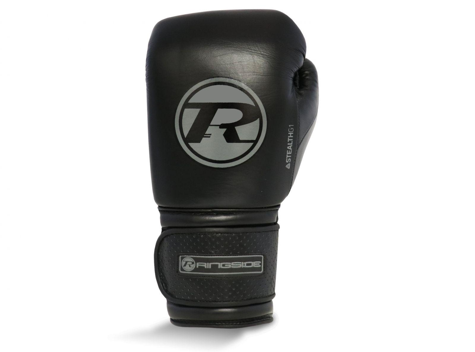 RINGSIDE Boxerské rukavice Stealth Series Super Pro Spar - černá/šedivá