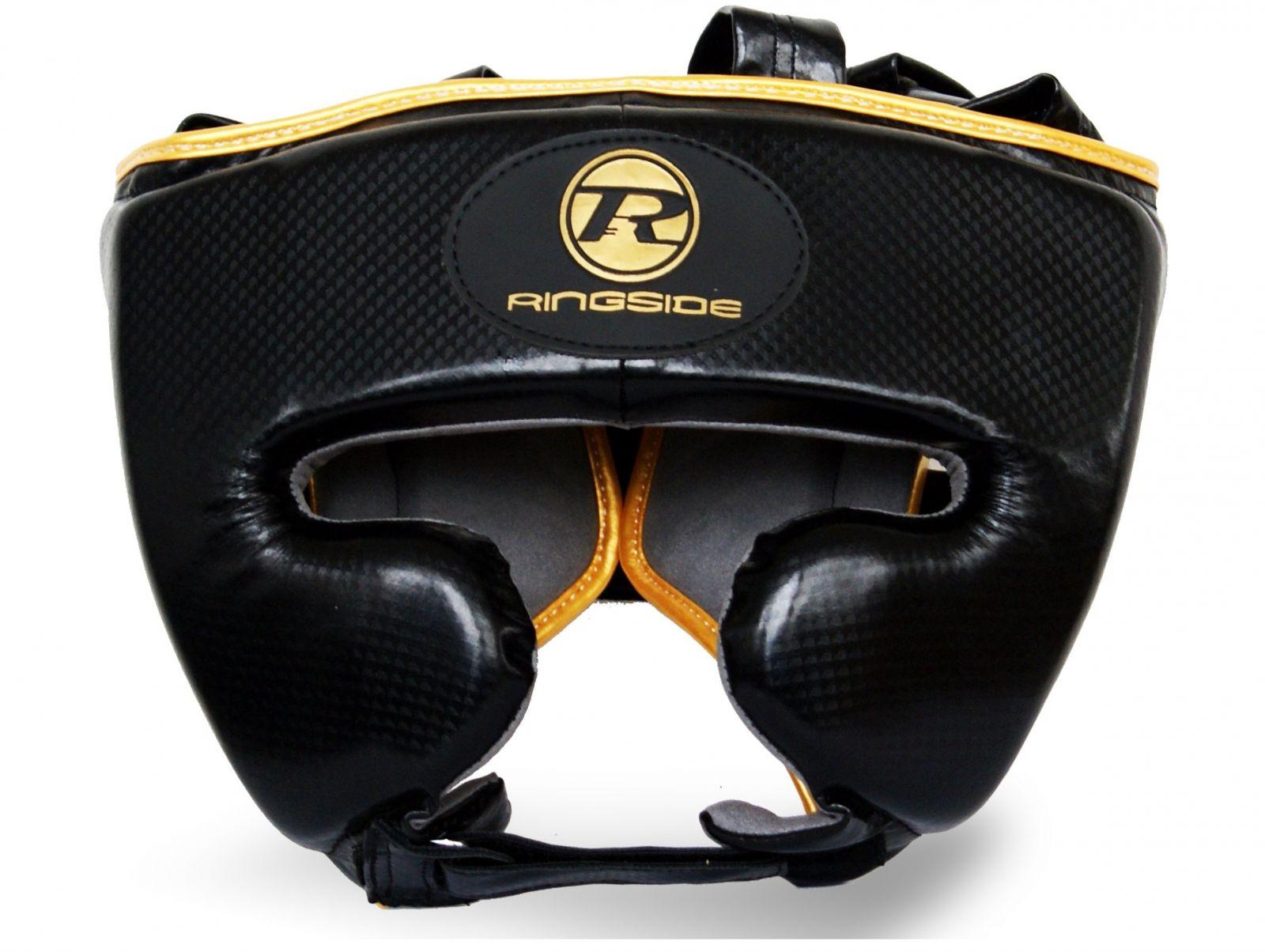 RINGSIDE Helma Pro Fitness (M) - černá metal/zlatá
