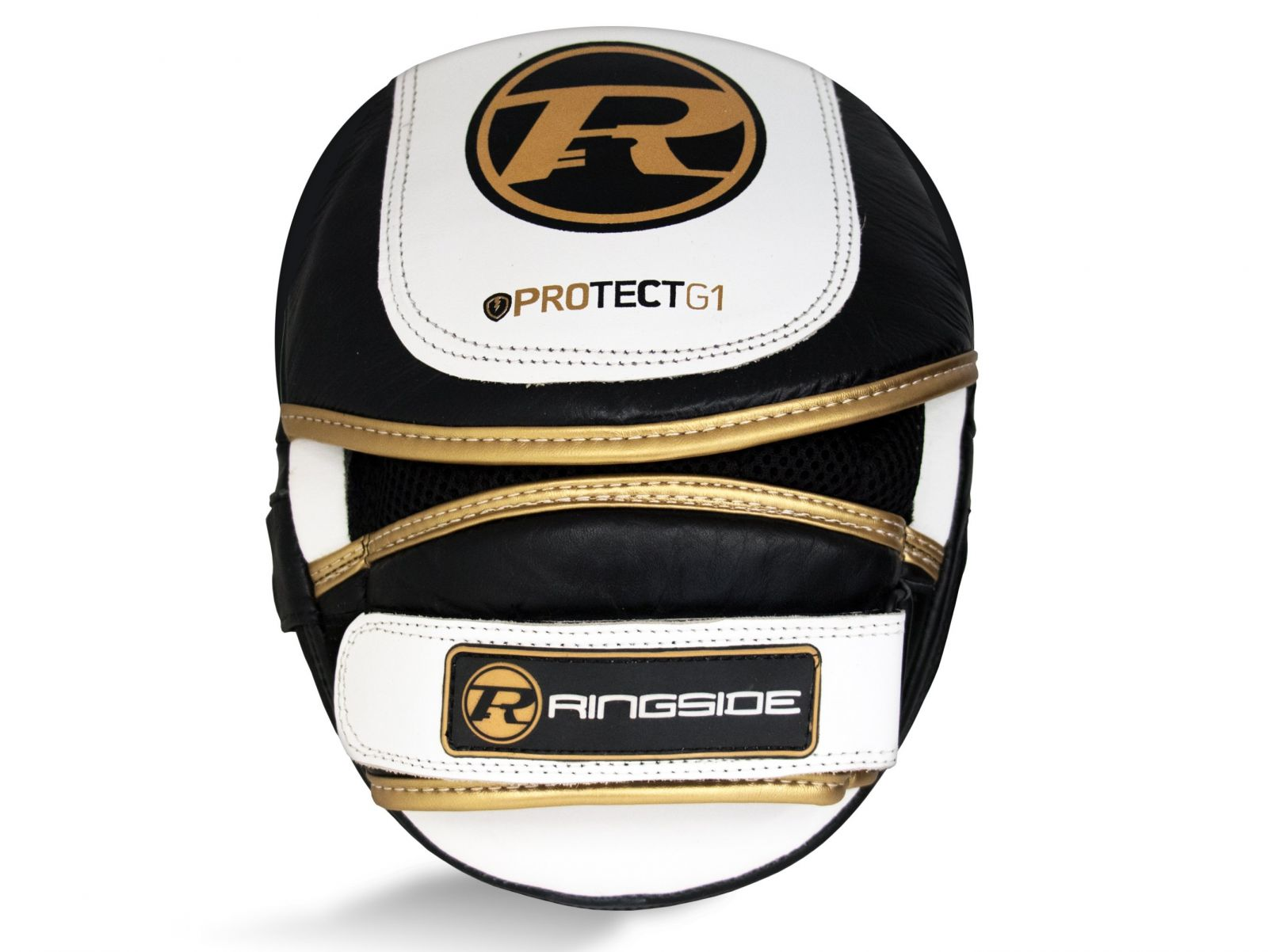 RINGSIDE Lapy Protect G1 Focus - bílá/černá/zlatá