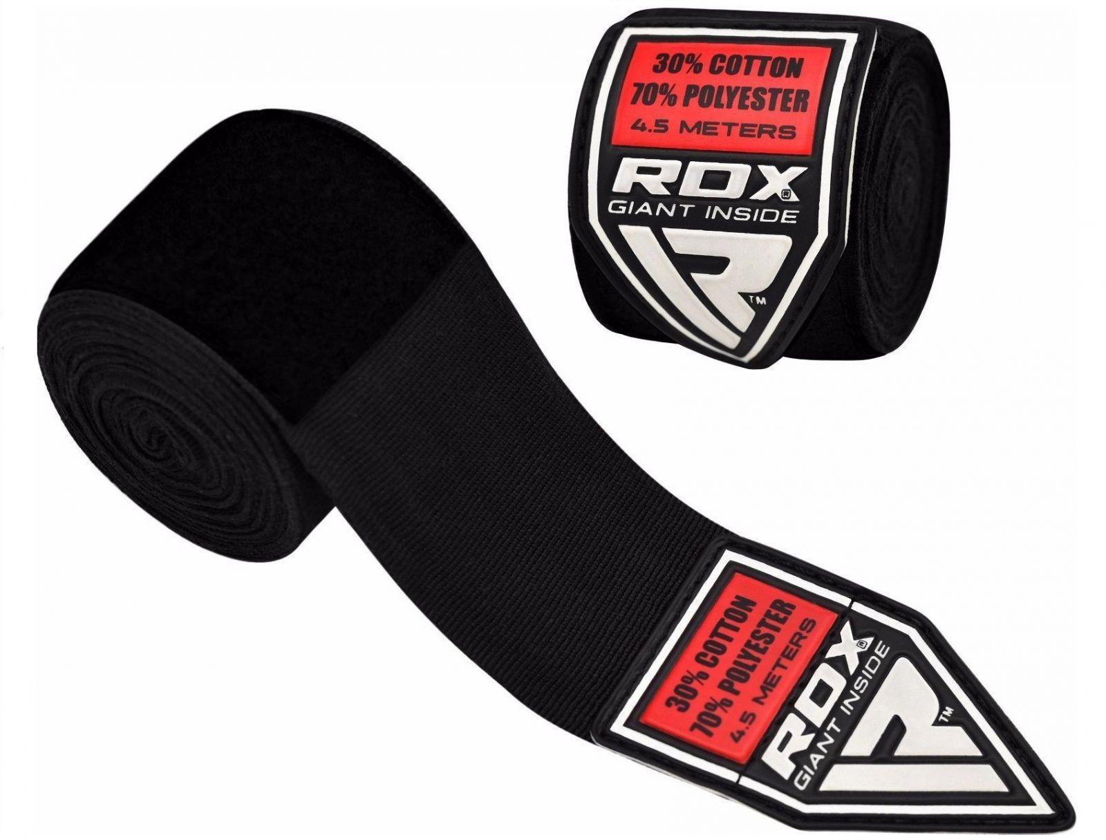 RDX Bandáže 4,5m - černá