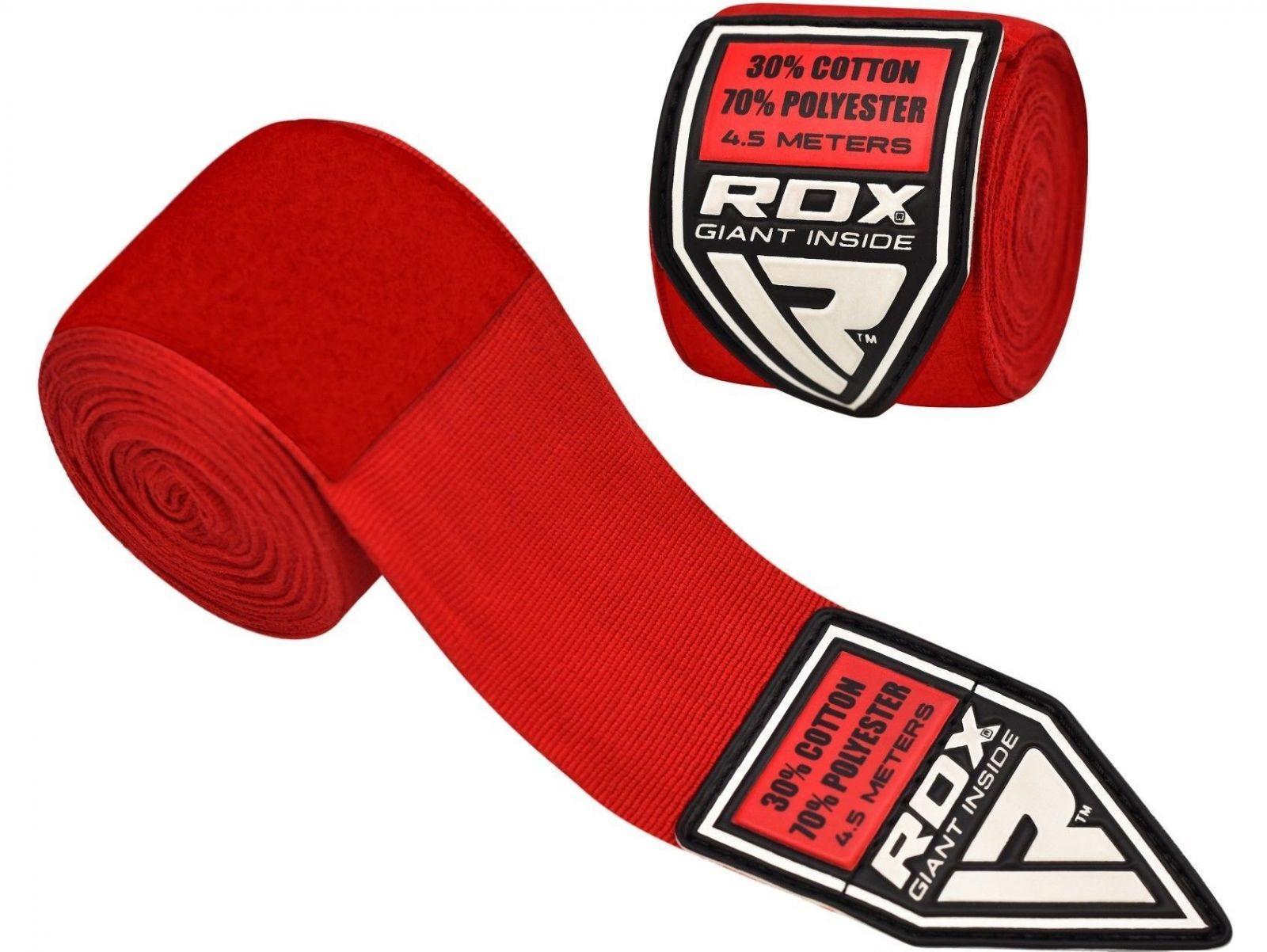 RDX Bandáže 4,5m - červená