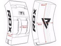 RDX Blok GEL KICK - černá/bílá