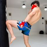 RDX MMA trenky R9 - modrá