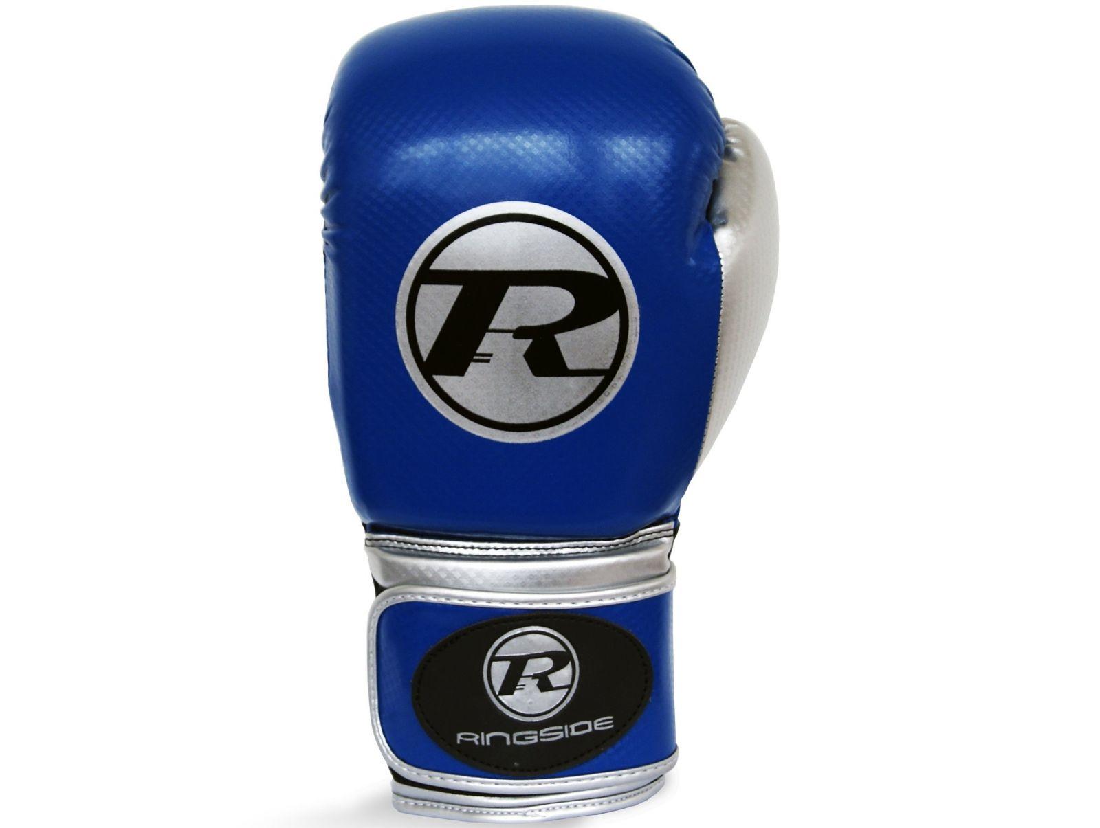 RINGSIDE Boxerské rukavice Pro Fitness (16oz) - navy/černá/stříbrná