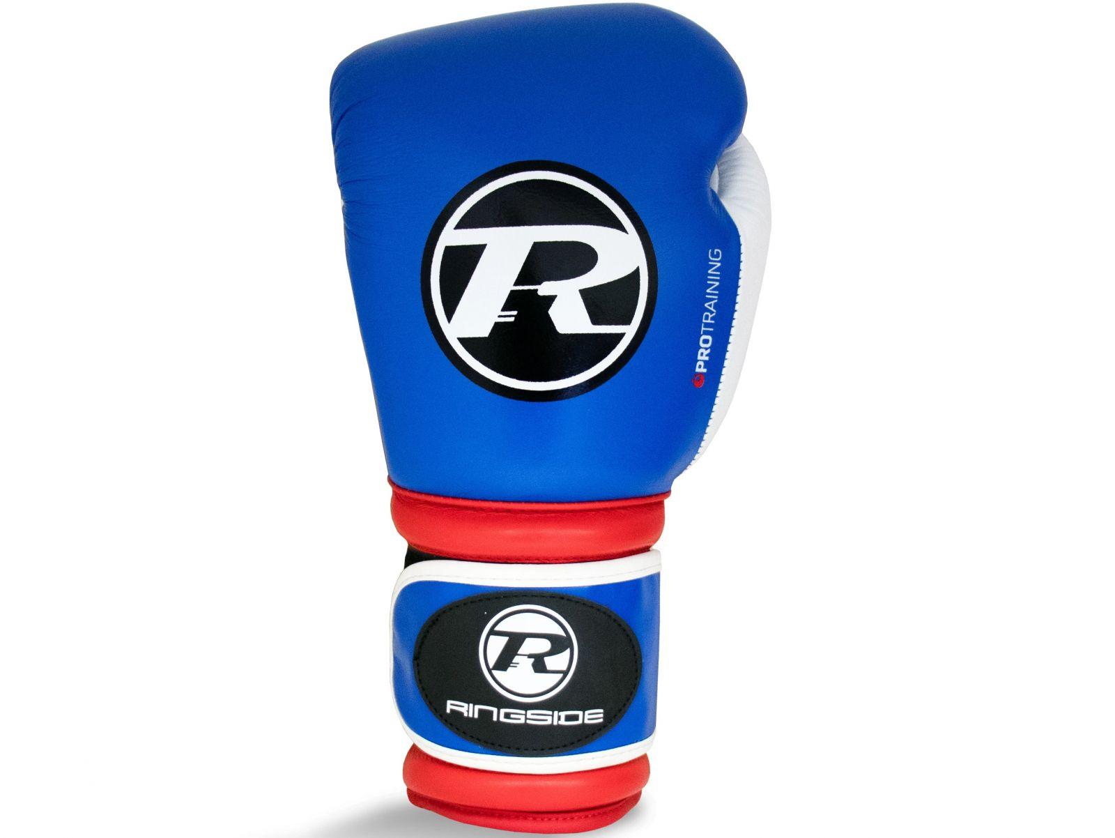 RINGSIDE Boxerské rukavice Pro Training G1 (16oz) - modrá/červená