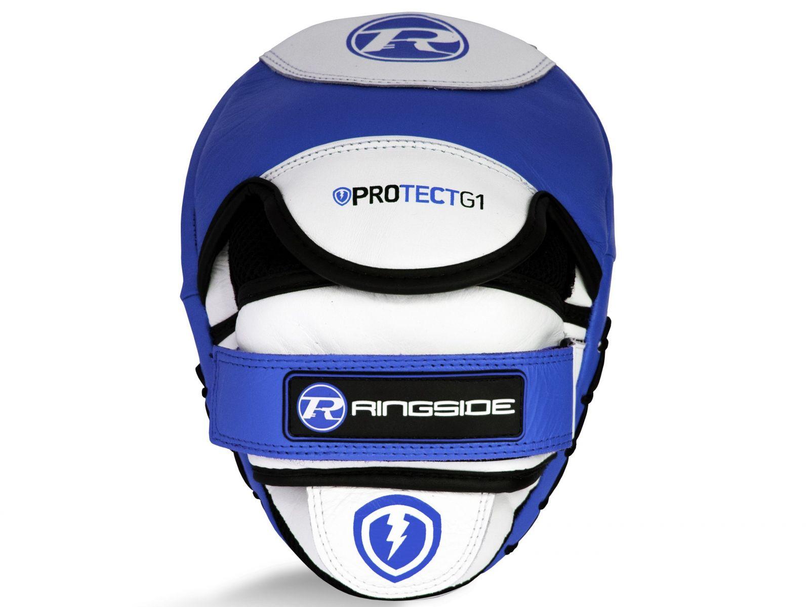RINGSIDE Lapy Protect G1 Hook & Jab - modrá/bílá/černá