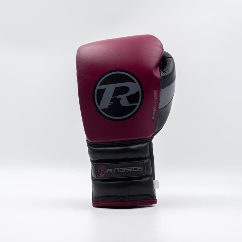 RINGSIDE Profi boxerské rukavice Pinnacle (16oz) - vínová